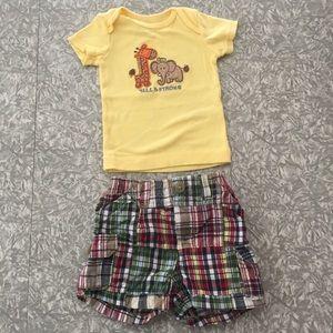 OshKosh Tee & Shorts